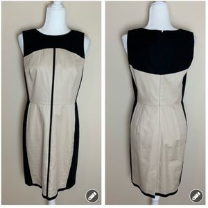 Ann Taylor structured woven dress #1948